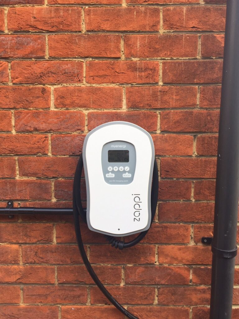 Zappi home chargepoint